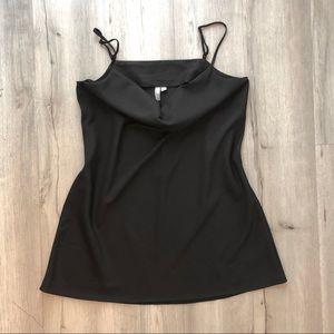 ASOS Little Black Cowl Neck Dress